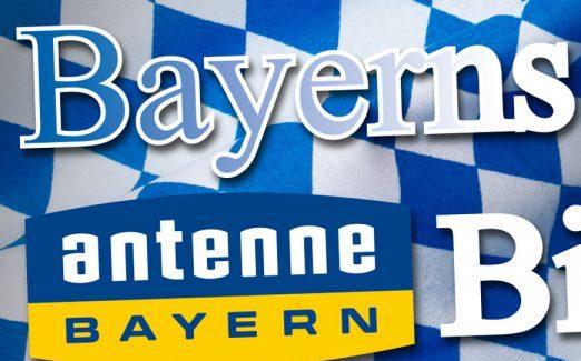 """Von den Antenne Bayern Hörern gekürt zu """"Bayerns besten Bierzeltband"""""""